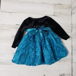 Younglad baby girl formal dress size 12